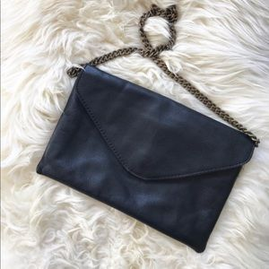 FINAL PRICE J. Crew Leather Envelope Purse 👜